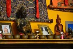 świątynia tybetańskiej Obrazy Stock