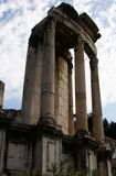 Świątynia Vesta, Romański forum obrazy royalty free