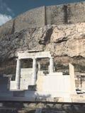 Świątynia w akropolu Ateny Obraz Royalty Free