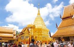 Świątynia w Chiang Mai, Tajlandia Zdjęcie Stock
