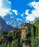 Świątynia w górę gór Fotografia Royalty Free