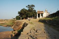 Świątynia w Hampi Karnataka India Zdjęcie Stock
