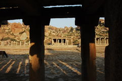 Świątynia w Hampi Karnataka India Obrazy Stock