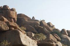 Świątynia w Hampi Karnataka India Fotografia Stock