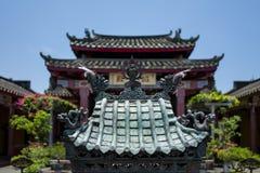 Świątynia w Hoi, Wietnam obraz stock