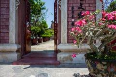 Świątynia w Hoi, Wietnam obrazy royalty free