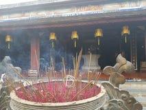 Świątynia w odcieniu Wietnam fotografia royalty free