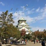 Świątynia w Osaka fotografia royalty free