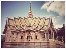 Świątynia w północy obraz stock