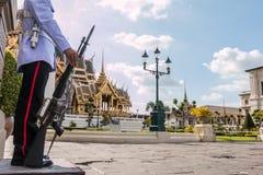 Świątynia w Uroczystym pałac szmaragdzie Buddha obraz stock