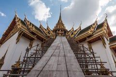 Świątynia w Uroczystym pałac szmaragdzie Buddha fotografia royalty free