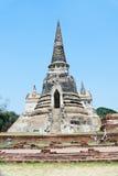 Świątynia wata phra sri sanphet w Ayutthaya Obrazy Royalty Free