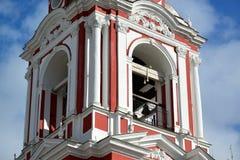 Świątynia Wielki męczennik Nikita na Staraya Basmannaya ulicie, Moskwa, Rosja Obrazy Stock