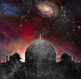 Świątynia wszechświat ilustracja wektor