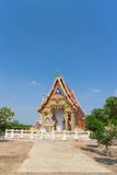 Świątynia z drzewem pod światłem słonecznym Zdjęcie Royalty Free