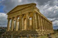 Świątynia zgoda - Sicily Obrazy Royalty Free