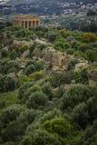 Świątynia zgoda - Sicily Obraz Royalty Free