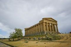 Świątynia zgoda - Sicily Zdjęcia Stock