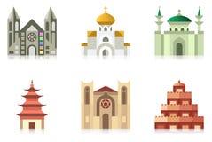 świątynie royalty ilustracja