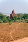 Świątynie Bagan Obrazy Royalty Free