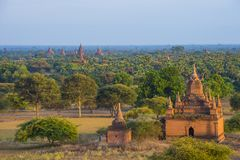 Świątynie bagan Myanmar Zdjęcie Stock