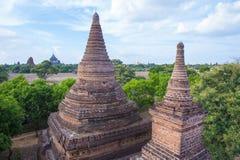 Świątynie bagan Myanmar Zdjęcia Stock