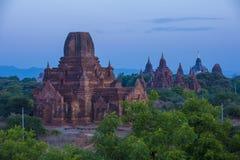 Świątynie bagan Myanmar Obrazy Royalty Free