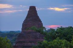 Świątynie bagan Myanmar Zdjęcia Royalty Free