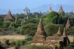 Świątynie Bagan, Myanmar - Fotografia Royalty Free