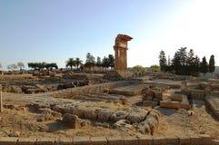 świątynie dolinne Obraz Royalty Free