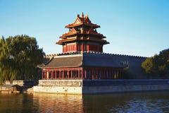 Świątynie Niedozwolony miasto w Pekin Chiny Obrazy Royalty Free