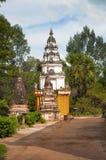 Świątynie, Siem Przeprowadzają żniwa Kambodża fotografia stock