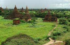 Świątynie w Bagan, Birma Fotografia Royalty Free