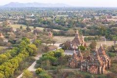 Świątynie w Bagan, Myanmar obraz royalty free