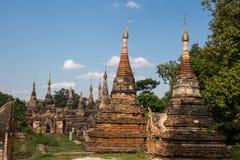 Świątynie w Inwa zdjęcia stock