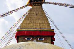 Świątynna Bodnath stupa Obrazy Stock