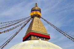 Świątynna Bodnath stupa Zdjęcia Stock