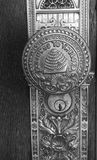 Świątynna drzwiowa gałeczka zdjęcie stock