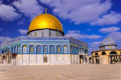?wi?tynna g?ra w sercu Jerozolima, Izrael obraz stock