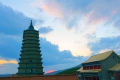 Świątynna sceneria Fotografia Stock