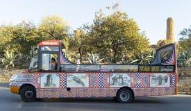 Świątynna wycieczka autobusowa Obrazy Royalty Free