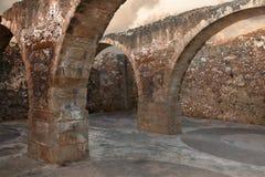 świątynne antyczne ruiny Zdjęcia Stock