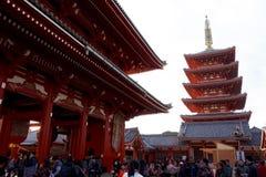 Świątynne bramy Fotografia Royalty Free
