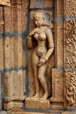 świątynne hinduskie bas ulgi Obraz Stock