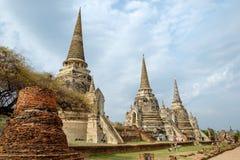 Świątynnego antycznego bielu popielaty pagodowy miejsce kultu sławny Obrazy Stock