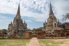 Świątynnego antycznego bielu popielaty pagodowy miejsce kultu sławny Zdjęcia Stock