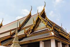 Świątynni dachy Obraz Royalty Free