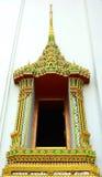 świątynni okno obraz royalty free