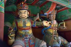 Świątynni strażnicy Obrazy Royalty Free