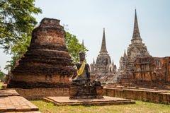 Świątynny antyczny biały pagodowy miejsce kultu sławny Obraz Royalty Free